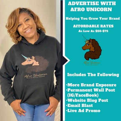 Advertise With Afro Unicorn