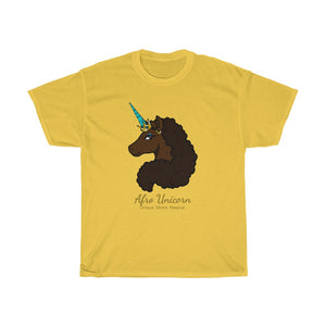 Afro Unicorn Spring Tees - Mocha (PS)