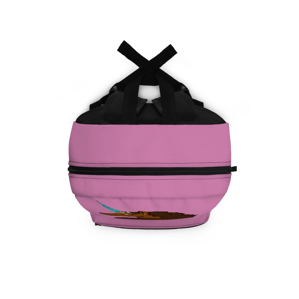 Afro Unicorn Backpack - Pink- Afro Unicorn