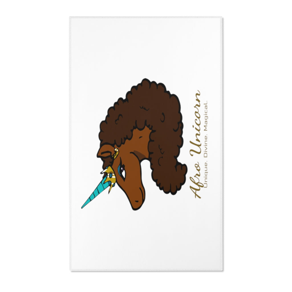 Afro Unicorn Area Rugs - Caramel- Afro Unicorn