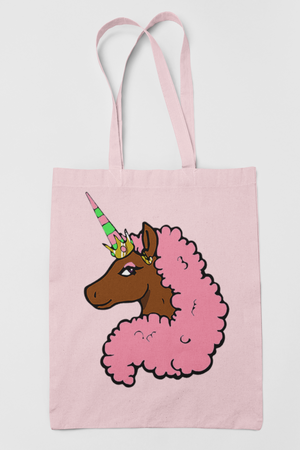 Afro Unicorn Special Edition Pink