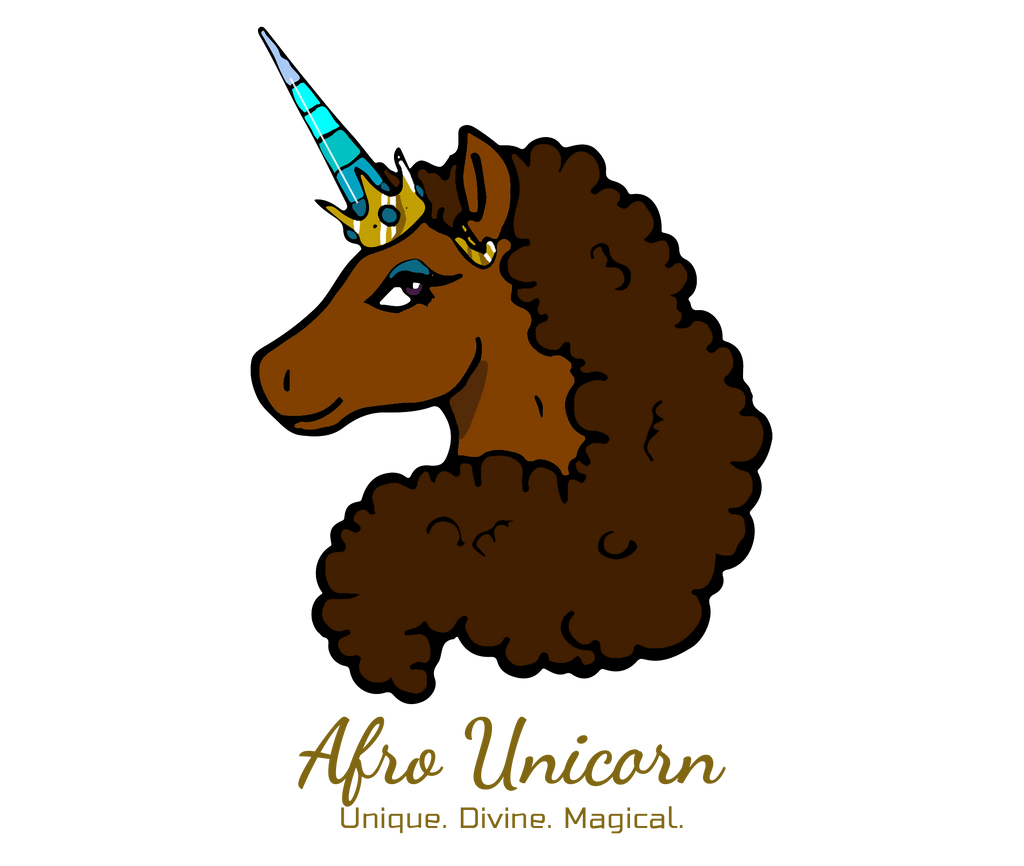 Afro Unicorn Gift Card- Afro Unicorn