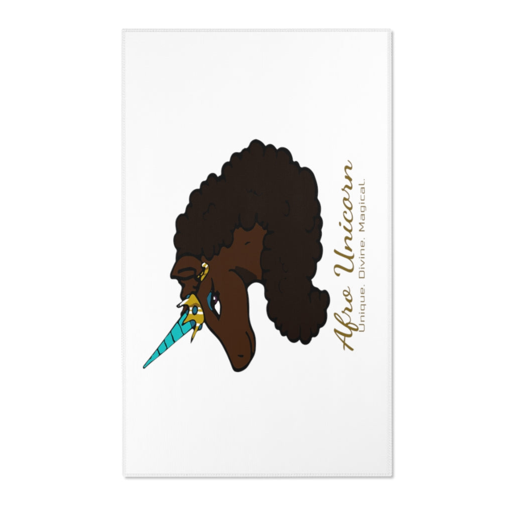 Afro Unicorn Area Rugs - Mocha- Afro Unicorn