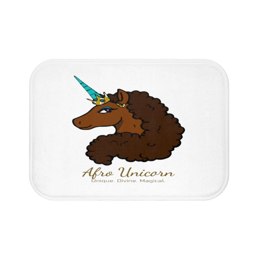 Afro Unicorn Bath Mat - Caramel- Afro Unicorn