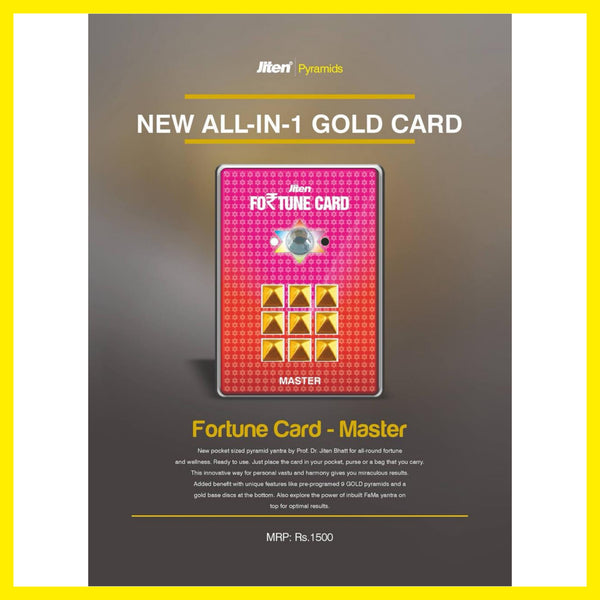 Fortune Master Card (All-in-1Gold card)
