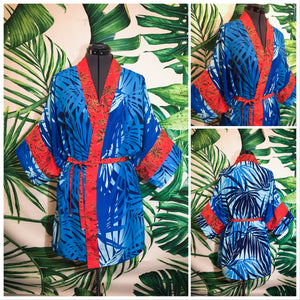Mochi Kimono - Night Palms - Mochi Collection