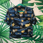 Vintage Island Traders 🌴 Women's Hawaiian Shirt XL