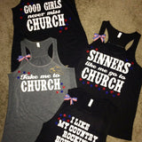 Country Tank - Country T-shirt - Ruffles with Love - Church