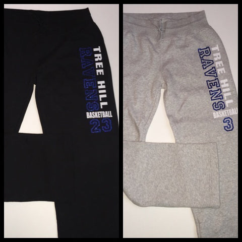 Tree Hill Ravens Basketball- Sweatpants - One Tree Hill - Ruffles with Love