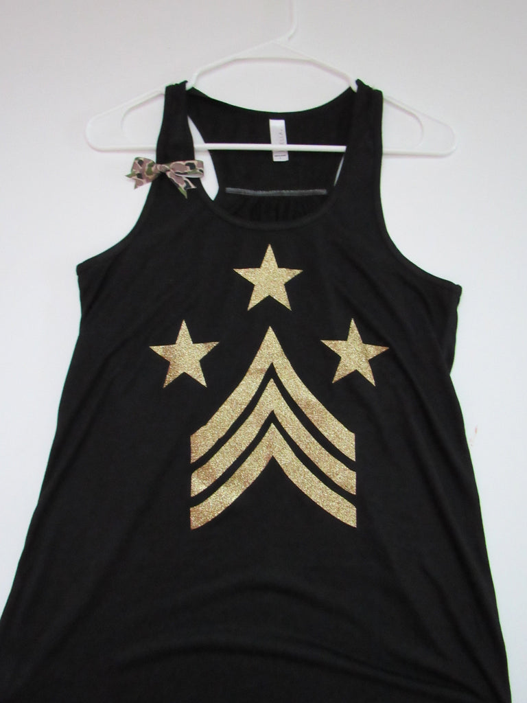 SALE -LARGE - Symbol Tank - Ruffles with Love - Racerback Tank - Womens Fitness - Workout Clothing - Workout Shirts with Sayings