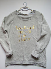 SALE - WEEKEND CHECKLIST SWEATSHIRT - Ruffles with Love - Womens Fitness - Workout Clothing - Workout Shirts with Sayings