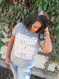 Words to Live By Tee - Ruffles with Love - RWL