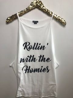 Rollin' with the Homies - Ruffles with Love - Graphic Tee - RWL