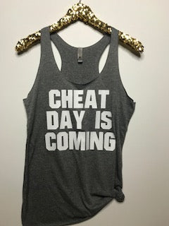 Cheat Day Is Coming   - Ruffles with Love - RWL - Graphic Tee