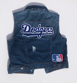 #Custom Denim Vest - Design Your Own - Ruffles with Love - RWL
