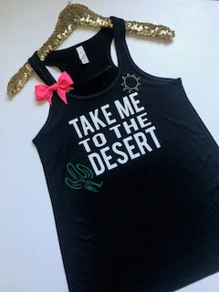 Take Me To The Desert  - Ruffles with Love - RWL - Desert Tank