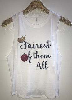 Fairest Of The All - Snow White - Disney Tank - RWL - Ruffles with Love