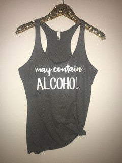 May Contain Alcohol - Ruffles with Love - RWL - Graphic Tee