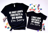 Mother Son Tee - Fortnite Shirt - Ruffles with Love - RWL - Unisex Tee - Graphic Tee