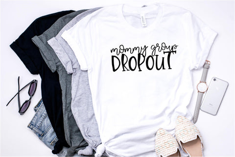 Mommy Group Dropout - Ruffles with Love - RWL - Unisex Tee - Graphic Tee