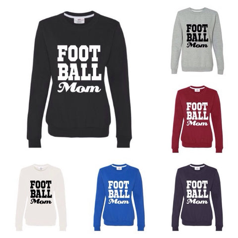 Football Mom Sweatshirt - Ruffles with Love