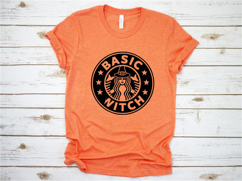Basic Witch - Halloween Tee -  Fall Tee - Ruffles with Love - RWL - Unisex Tee - Graphic Tee