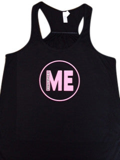 Black Tank - Logo Tank -  Indestructible Me - Be Indestructible - by Ruffles with Love