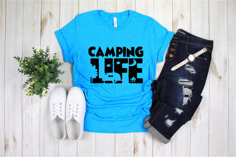 Camping Life - Ruffles with Love - Tee