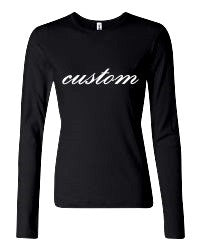 Custom Long Sleeve - Ruffles with Love - Design Your Own