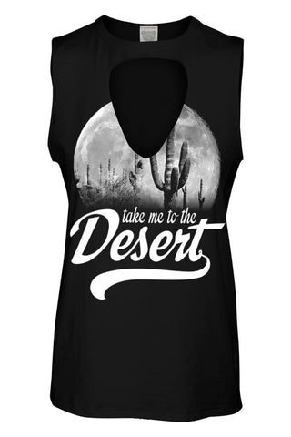 RWL BOUTIQUE - Take Me to the Desert Tank - Ruffles with Love - RWL