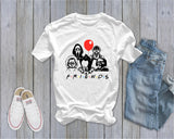 Friends - Horror Movie - Halloween Tee -  Fall Tee - Ruffles with Love - RWL - Unisex Tee - Graphic Tee