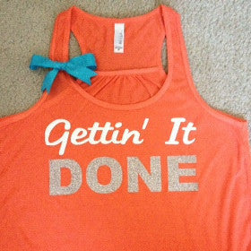 Gettin' It Done Racerback Tank