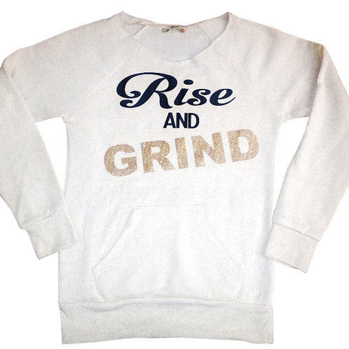Rise and Grind Eco Fleece Sweatshirt