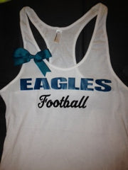 CUSTOMIZE YOUR Favorite Team - Eagles Football Tank Top