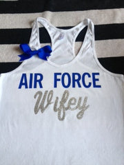 Air Force Wifey Tank