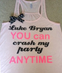 Luke Bryan Crash My Party Racerback