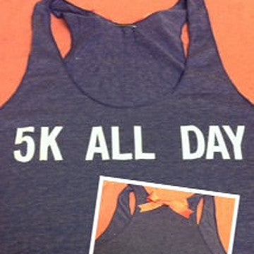 5K All Day Racerback Tank