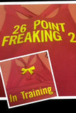 26 Point Freaking 2 Workout Racerback Tank