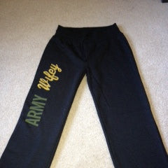 Army Wifey Fleece Pants