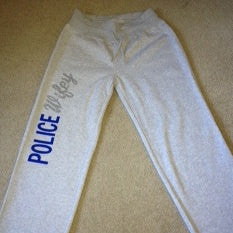 Police Wifey Fleece Pants