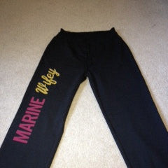 Marine Wifey Fleece Pants