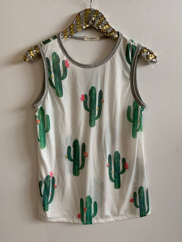 IG FLASH SALE - Cactus Tank - Ruffles with Love - RWL