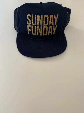 IG FLASH SALE - Sunday Funday Hat - NAVY