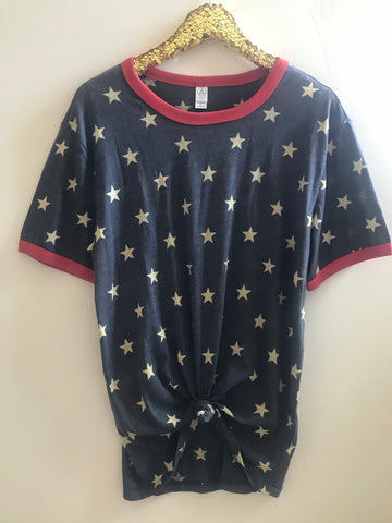 Stars Shirt - 4th of July Shirt - Ruffles with Love - RWL