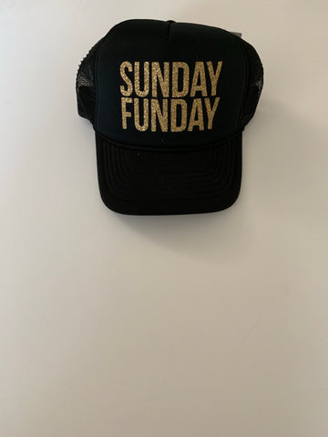 IG FLASH SALE - Sunday Funday Hat - BLACK