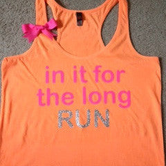 In it for the Long Run Racerback Tank