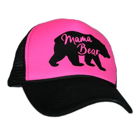 Mama Bear - Pink - HAT - Ruffles with Love - RWL