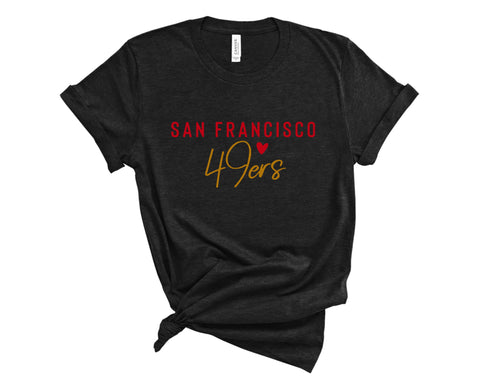 San Francisco 49ers - Niners - Super Bowl - Ruffles with Love - Tee