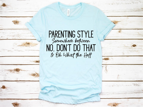 Parenting Style - Ruffles with Love - Tee