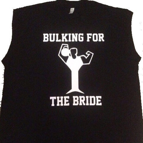 Bulking for the Bride - Ruffles with Love - Mens Wedding Shirt - Mens Fitness - Wedding Shirt